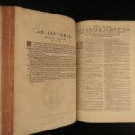 1581 Saint Aquinas Summa Theologiae + Thomas Cajetan Commentary Catholic FOLIO