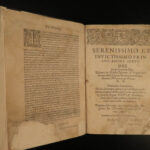 1597 Scottish LAWS & Acts of Parliament Edinburgh SCOTLAND Skene RARE Verborum