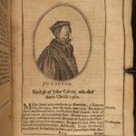 1654 Clarke Marrow Church History Augustine Luther Calvin PURITAN 50 Portraits