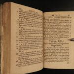 1684 Saxon LAW Civil Criminal Cases Jurisprudence German Benedikt Carpzov JENA