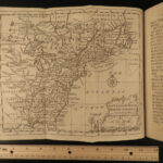 1763 1ed History of Seven Years War MAPS France Spain West Indies America Entick
