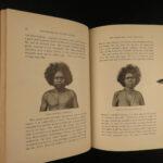1894 1ed Journey Around the World Clark CHINA Japan Australia Egypt Greece Opium