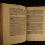 1520 EXQUISITE Saint Athanasius Alexandria Council of Nicaea Paganism INCUNABLE