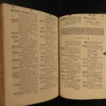 1578 Pagnino HEBREW Bible Lexicon Thesaurus Linguae PLANTIN Judaica Pagninus