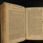 1736 Complete FAMILY Hunting Fishing Cooking Beer Brewing Wine Medicine RARE