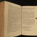 1772 ITALIAN Pietro Metastasio Opera Libretto Artaxerxes Hadrian in Syria 4v