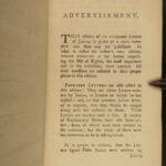1783 Letters of Junius Newspaper Constitution Laws Government Rev War 2v SET