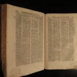 1569 Justinian LAW Pandectae Corpus Juris Civilis Roman Accursius Comments FOLIO