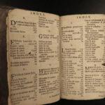 1695 Aesop Fables CLASSIC Folklore Mythology Latin Fabulae Erasmus Gellius