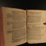 1575 Aristotle Philosophy Metaphysics Bouchereau Paris ed + Commentary Vellum