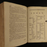 1791 Housekeeper's Instructor Cookbook Recipes English Cuisine COOKING Baking