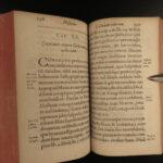 1636 1ed Ancient GAUL Celtic Gallic Antiquities Caen France DRUIDS Gosselin RARE