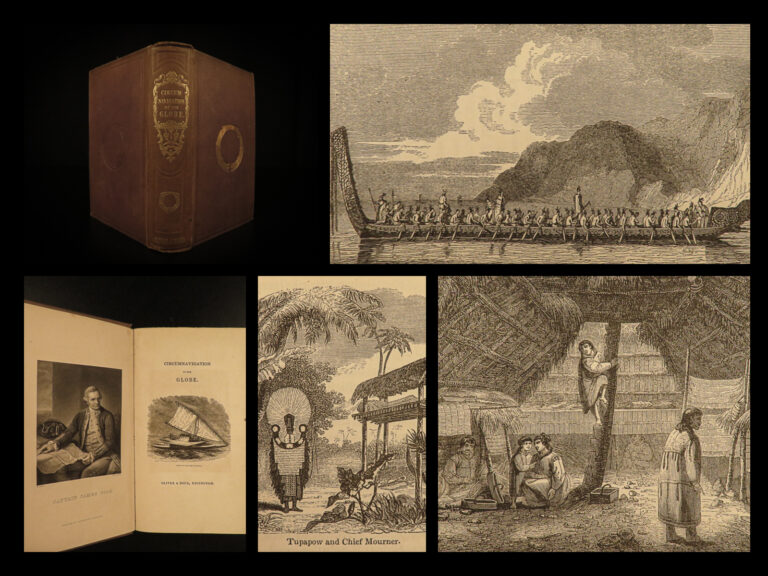 Image of 1837 Famous Voyages Christopher Columbus Marco Polo Capt Cook Magellan Anson