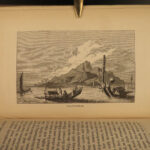 1837 Famous Voyages Christopher Columbus Marco Polo Capt Cook Magellan Anson