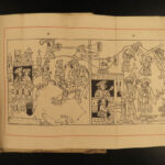1887 Golden Legend of the CROSS Medieval Woodcut Illustrations Veldener Caxton