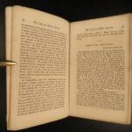 1860 RARE 1ed Abraham Lincoln & Hamlin Slavery Douglas Debates pre Civil War
