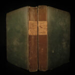 1829 1ed Traditions of Lancashire Pendle WITCHES Witchcraft Mab's Cross John Dee