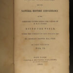 1846 1st ed Charles Darwin Voyages HMS Beagle Evolution Journal of Researches