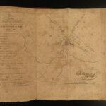 1817 NAPOLEON Campaign in Russia Napoleonic War MAPS Moscow Labaume Jaroslavits