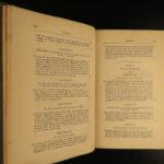 1876 Charles Darwin EVOLUTION Science Decent of Man Voyage Genetics Biology 6v
