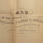 1854 Exploration of Amazon Brazil South America Voyages Illustrated Herndon RARE