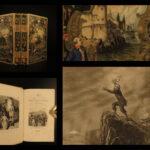1843 BEAUTIFUL BINDING World Voyages Ferdinand Magellan James COOK Laplace 2v