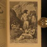 1870 Primitive Man Anthropology Louis Figuier Prehistoric Illustrated Ancient