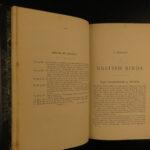 1883 1ed History of British Birds Seebohm Color Illustrated Ornithology Eggs 4v