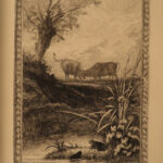 1884 Ltd ed Fables of Jean la Fontaine Delierre Art Illustrated BEAUTIFUL