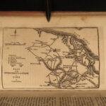 1838 American Revolution History George Washington Revolutionary War Maps Botta