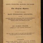 1831 1ed Gypsies Advocate Wesleyan Crabb Occult Fortune Telling English Romani
