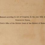 1866 Excursions Henry David THOREAU Transcendentalism Philosophy Walden EARLY ed