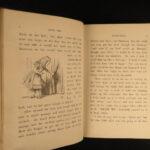 1879 Alice in Wonderland Lewis Carroll Tenniel Illustrated Fantasy Classic