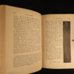 1876 SIGNED 1st ed DINOSAURS Paleontology Fossils America History of our Planet