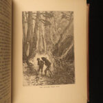 1875 1st ed Jules Verne Mysterious Island Wrecked in Air Shipwrecks Adventure