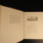 1890 1st ed TENNIS British Sports & Games Rackets Fives Heathcote Illustrated