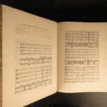 1844 Handel's MESSIAH Baroque Classical Music Mozart Hallelujah EXQUISITE FOLIO