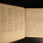 1880 HUGE Holy Bible w/ Apocrypha Illustrated Bible Scenes American Philadelphia