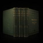 1882 Medicine & Home Surgery American Cyclopedia Domestic Homeopathy Anatomy 3v