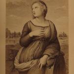 1866 1ed Raphael Italian Renaissance ART Painting Illustrated English BEAUTIFUL