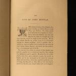 1854 John Bunyan Pilgrim's Progress Illustrated Demons Puritan BEAUITFUL Art