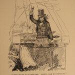 1894 1st ed Tom Sawyer Abroad Mark TWAIN Jules Verne Parody Illustrated Africa