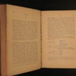 1869 MASONIC Lexicon Freemasonry Albert Mackey Knights Templar Rituals RARE