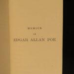 1859 EARLY Edgar Allan Poe RAVEN Bells OCCULT Horror Poetry Memoir Macabre