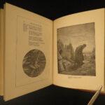 1880 Rime of Ancient Mariner Samuel Coleridge Gustave DORE ART Illustrated