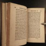1534 1st ed GREEK Herodian Roman Histories Commodus Marcus Aurelias Valder RARE