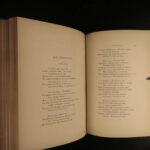 1859 EXQUISITE 1ed Gallery English American Poets Poe Burns Scott Longfellow ART