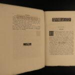1881 Book of Saint Albans FISHING Hunting Compleat Angler RARE Juliana Berners