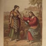 1876 WELSH Holy Bible Methodist Peter Williams Commentary Bangor Gwynedd Wales