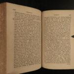1801 1ed Eccentric Biography Ben Franklin Mary Wollstonecraft Raleigh Joan Arc